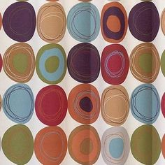 Dot Swirl 13 Piece Shower Curtain With Bonus Coordinating Hooks Set, Multi  Colors