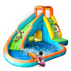 Picking One from Various Pool Water Slides