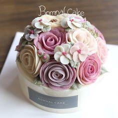 1Day class, 수강생 작품 꽃피는봄날 케이크, BOMNAL CAKE #Riceflowercake#Bomnalcake#꽃피는봄날…