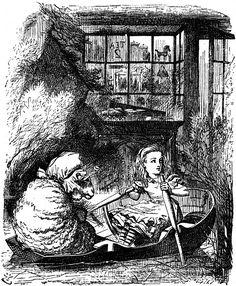 John Tenniel. Through the Looking Glass. Pictures from Through the Looking Glass - Alice-in-Wonderland.net