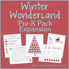 WINTER  Winter Wonderland Pre-K Pack Expansion
