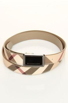 Burberry Nova Betsy Plaque Belt