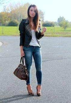 outfit con zapatos de leopardo - Buscar con Google