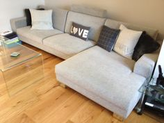 We love this Corylus chaise set.  It is ideal for the TV snug area off the kitchen.