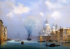 Fratelli Alinari - The oldest company of visual images in the world Grand Palais, Trieste, Art And Architecture, All Art, Art History, Venice, Taj Mahal, Sailing, Contemporary Art
