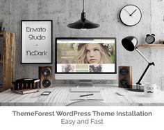 ThemeForest WordPress Theme Installation by nicdark