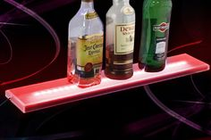 LED bar shelf, comes with remote control
