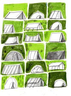 dessine moi une tente...