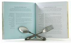 Flatware Cookbook Holder traditional kitchen tools