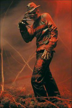 Freddy Kruger, had a Freddy obsession!