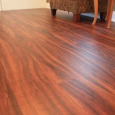 "Redwood Luxury Vinyl Plank Flooring 4mm x 6"" x 48"" Click Lock"
