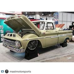 #Repost @mastmotorsports with @repostapp.  @slosh_tubz Mast powered Chevy is ready for SEMA....are you!?! @dakota_digital #VHX @SloshTubz #boostedbertha #c10 #shortwide #sema2015 #sema #semashow #MastMotorsports @precisionreplacementparts @semashow #supercharger #supercharged #magnusonsuperchargers #davidatmagnusonsuperchargers @hotrodmagazine @americanmusclehd @classicsdaily #sema15 @precisionreplacementparts by david_at_magnusonsuperchargers