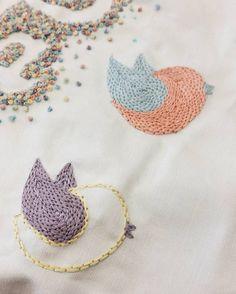 """256 curtidas, 14 comentários - Marina Burity (@bordadosdaburity) no Instagram: """"Continuando o bordado com passarinhos 🐦 going on with this embroidery, now adding birds"""""""