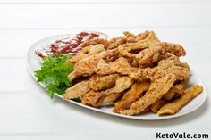 Keto Chicken Tenders Recipe