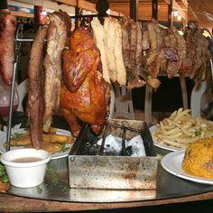 El tendedero from la Vaca Brava Restaurant in Barranquitas