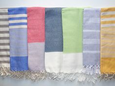 Turkish Towels Pestemals Turkish Towels, Beach Towel, Picnic Blanket, Hand Weaving, Quilts, Athens Greece, Hand Knitting, Quilt Sets, Log Cabin Quilts