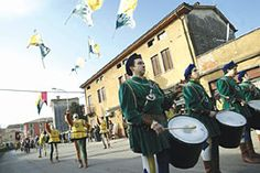 ST. AGATHA FESTIVAL, Feb. 10, Arzignano, Piazzale Vittoria, about 12 miles west of Vicenza. Votive historical procession departs at 9:15 a.m. accompanied by flag-flyers, and drummers; 10 a.m. medieval market opens; food booths featuring local specialties and wines; 2 p.m. local products and crafts exhibit and sale; from 2 p.m. free castle guided tour (in Italian);  2:30 p.m. medieval shows; 6:30 p.m. fireworks.