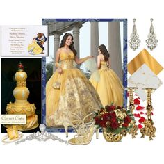 """""""Beauty and the Beast"""" by mrsleflore on Polyvore"""