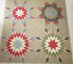 Northern Deb Quilts- Doing a Minick and Simpson quilt using Independence Trail fabrics along with civil war stash pieces. NOT an easy pattern but love the looks of it