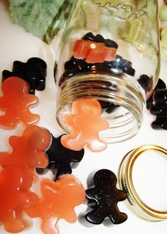 Homemade Healthy Gummy Bear Recipe. Made with gelatin....a little-known superfood great for your joints and youthful hair & skin!