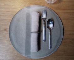 Kay Bojesen Grand Prix cultery at the Michelin restaurant Kadeau in Copenhagen. Danish Design, Cutlery, Grand Prix, Copenhagen, Porcelain, Restaurant, Restaurants, Flatware, Ceramic Pottery
