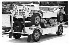 A pair of Morris Mini Mokes stacked ready for export . Classic Mini, Classic Cars, Vintage Cars, Antique Cars, Weird And Wonderful, Car Photos, Motor Car, Cars And Motorcycles, Monster Trucks