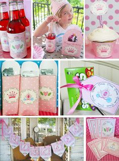 Princess : Parties and Patterns, Fun ideas grow here!  FREE!!!