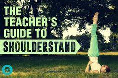 Get That Dirt Off Your Shoulderstand   A Teacher's Guide to Salamba Sarvangasana