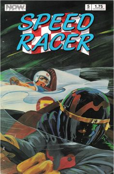 Issue #5 of Speed Racer from Now Comics. ©1987 Tatsunoko Productions, Now Comics and Speed Racer Enterprises.