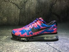 71db4dbc77 New And Cheap 2017 Nike Air Max 2017 Pink Blue Black 918092 993 Womens  Sport Running Shoes Sneakers