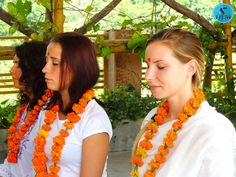 200 Hours Yoga Teacher Training Welcome Ceremony At AYM Yoga School, Rishikesh, India