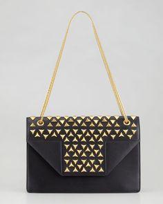 ecfa03ed06f8 Saint Laurent Betty Studded Chain Shoulder Bag