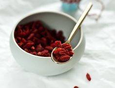 Put down the wrinkle cream! Goji Berries stimulate the pituitary gland, upping your body's production of the human growth hormone. This miraculous hormone can reverse the effects of aging. We'd write more, but must rush out to our local health food store...  *image courtesy of justhomemade.net