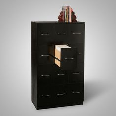 Custom Filing Cabinet for Comic Book Storage. PERFECT for Jason's Office! :)