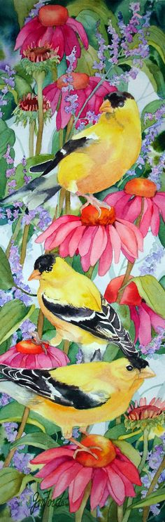 """Melody of the Goldfinch"" by Jan Ford"