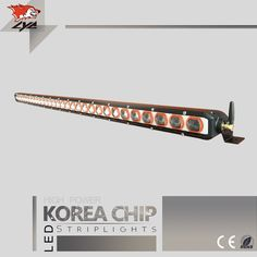 417.25$  Buy now - http://alis43.worldwells.pw/go.php?t=32751778174 - 1 Pcs LYC New Led Light Bar Made In China Cars with led For Offroad Light Bar 50 Inches 300W Spotlight /Floodlight Amber Bar