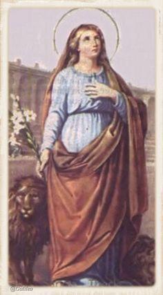 Santa María, Madre de Dios y Madre nuestra: Santa Tecla 23 de Septiembre