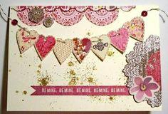 scrapbook valentines cards - Pesquisa Google