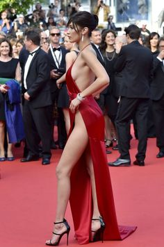 Oh, Just 28 Photos Of Bella Hadid Looking Beyond Incredible At Cannes Sexy Outfits, Cute Outfits, Club Dresses, Sexy Dresses, Red Formal Dresses, Women Legs, Sexy Women, Beautiful Legs, Gorgeous Women
