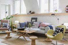 Marimekko Home S/S 2016 press event Marimekko, Living Area, Living Spaces, Living Room, Scandinavian Home, Home Collections, Decoration, Diy Design, Interior And Exterior