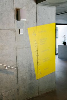 Bold use of colour and perspective Environmental Graphic Design, Environmental Graphics, Office Signage, Floor Signage, Wayfinding Signs, Eco Buildings, Outdoor Signage, Parking Signs, Sign Display