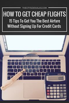 How To Get Cheap Flights: 15 Tips To Get You The Best Airfare Without Signing Up For Credit Cards. Travel more, spend less! Should you enjoy arts and crafts you will really like our website! Cheap Travel, Budget Travel, Travel Planner, Travel Advice, Travel Tips, Travel Hacks, Travel Careers, Air Travel, Travel Ideas
