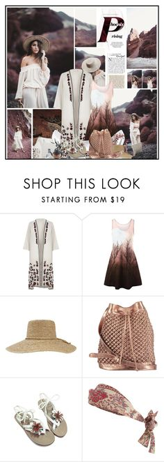 """""""Phoenix rising"""" by katik27 ❤ liked on Polyvore featuring Rocio, River Island, Brixton, nooki design, Zimmermann and Behance"""