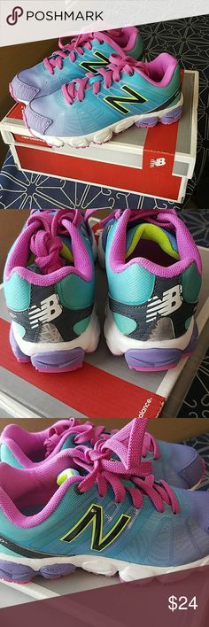 New Balance Little Girls Shoes Size 11.5 So Cute and Colorful! New in the Box Toddler size 11.5. New Balance Shoes Sneakers