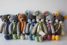 szydełkowe zabawki Bears&Co.