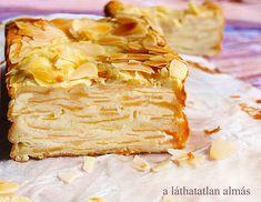 A láthatatlan almás sütemény Snack Recipes, Snacks, Peanut Butter, Sweet Treats, Deserts, Muffin, Chips, Sweets, Cookies