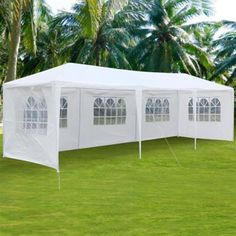 99.98$  Watch now - http://aliyxv.worldwells.pw/go.php?t=32755958314 - 10'x30' Family Camping Tent Canopy Party Outdoor Patio Wedding Tent Multiplayer Traveling Heavy Duty Gazebo Pavilion Cater Event 99.98$