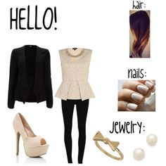 """""""hello"""" by riet-david on Polyvore"""