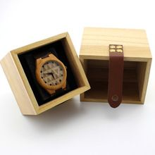 Wooden box for Bamboo watch