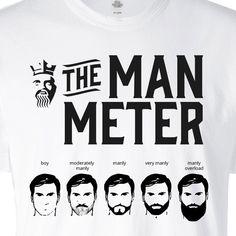 The Man Meter - BEARD KING - 3